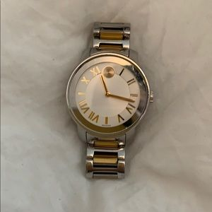 Movado Bold Watch (Gold/Silver)